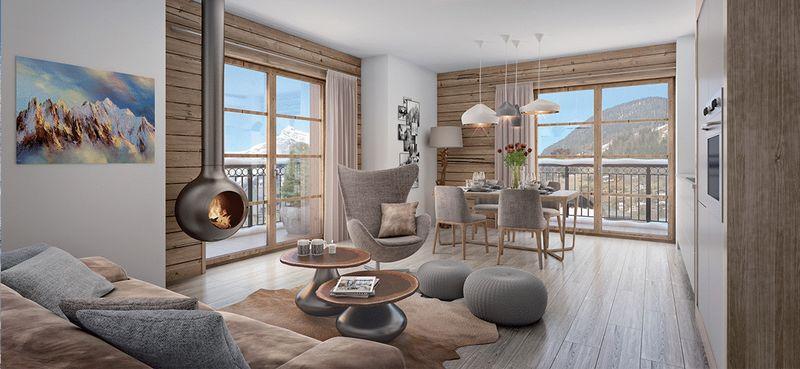 St Gervais - Le Clos du Savoy (3 bed + cabin - B13)