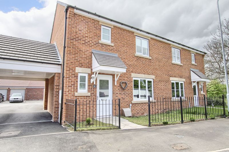 3 Bedrooms Semi Detached House for sale in Dorado Close, Stockton-on-tees