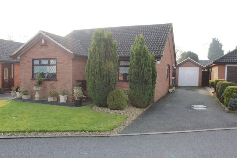 2 Bedrooms Detached Bungalow for sale in Sycamore Close, Uttoxeter