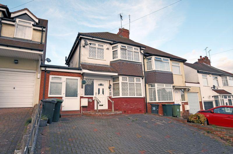 3 Bedrooms Semi Detached House for sale in Oak Road, Oldbury