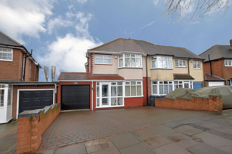 3 Bedrooms Semi Detached House for sale in Wilmington Road, Quinton