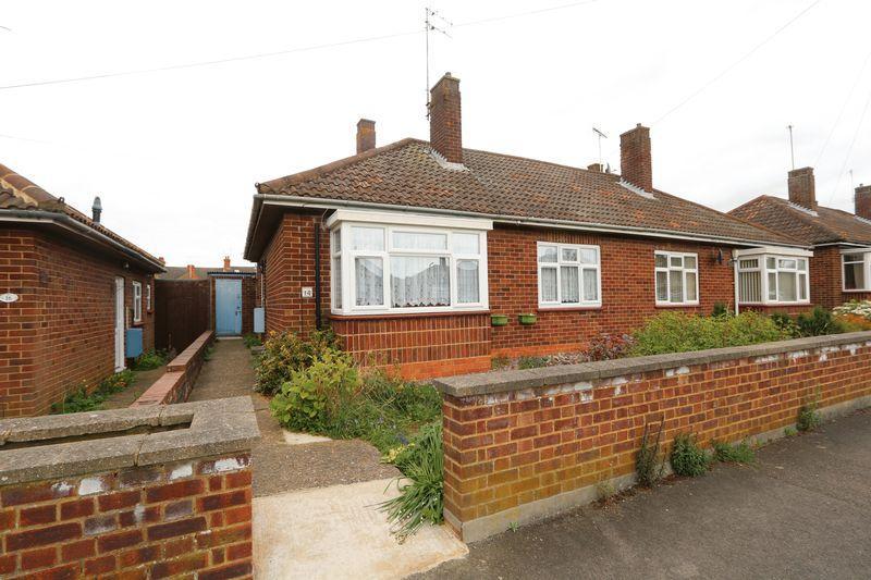 2 Bedrooms Semi Detached Bungalow for sale in Furze Way, Milton Keynes