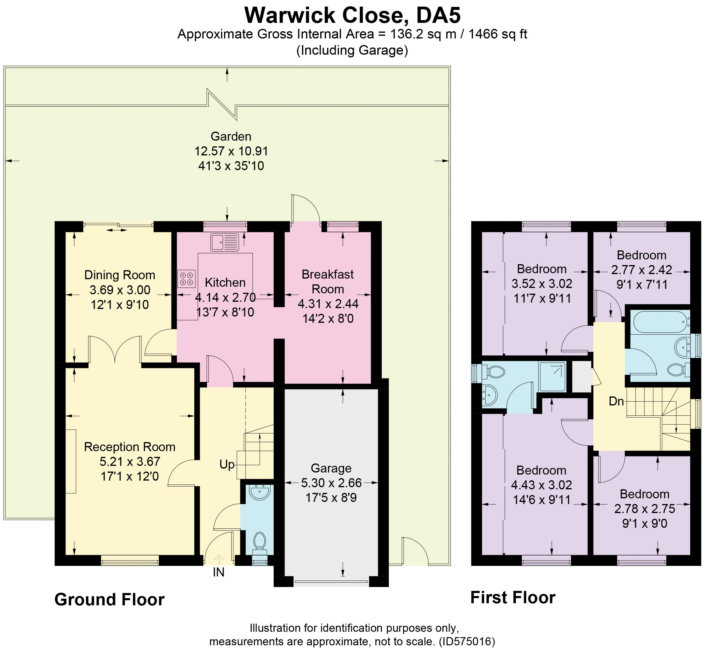 13 Warwick Close