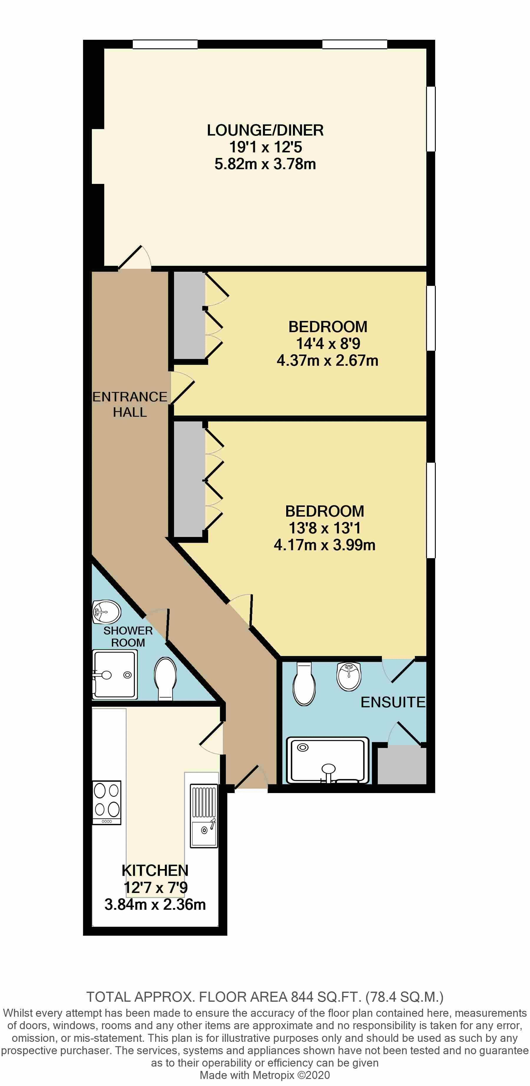 12 Baldwyns Mansions