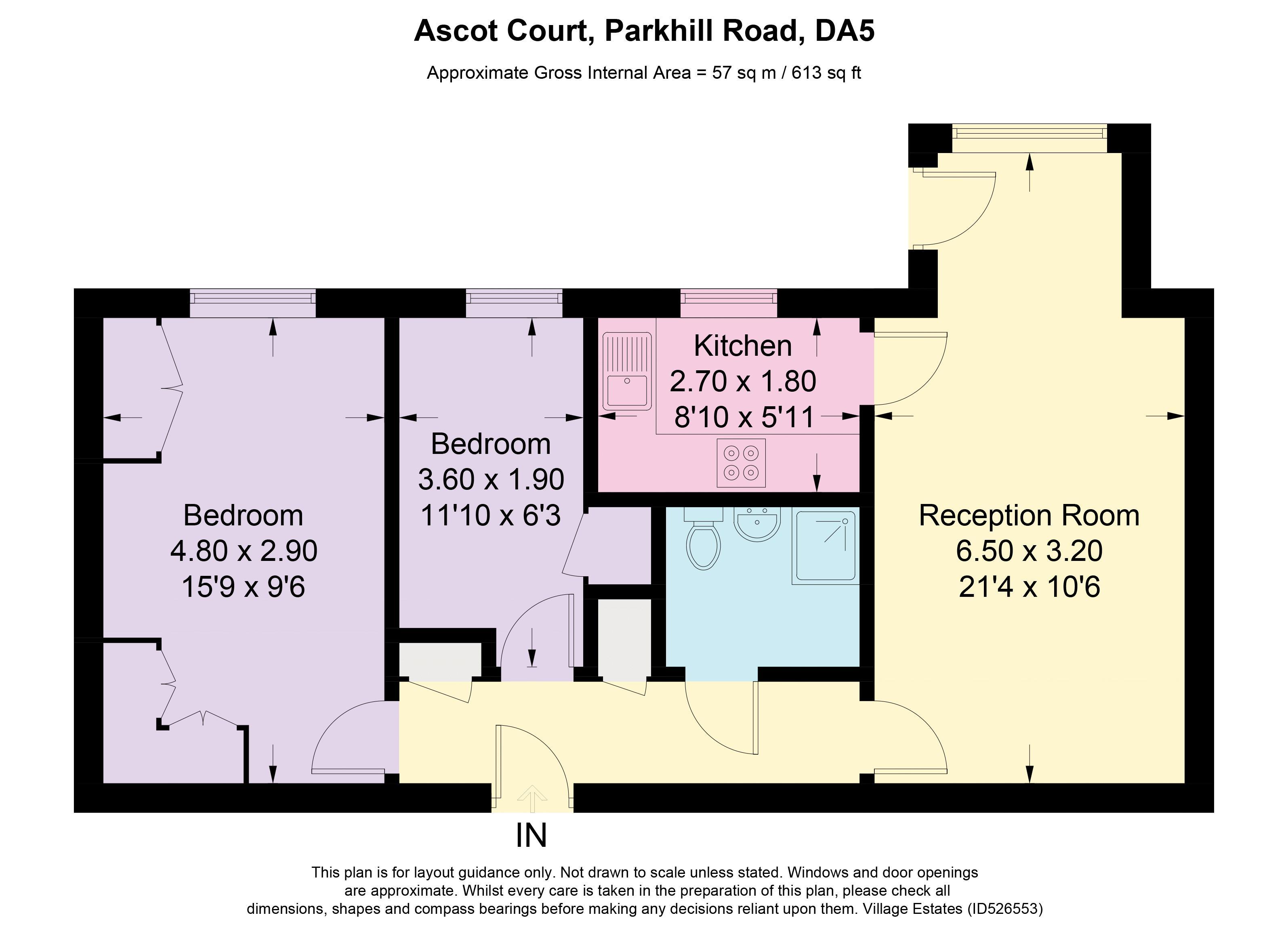 Flat 14 Ascot Court