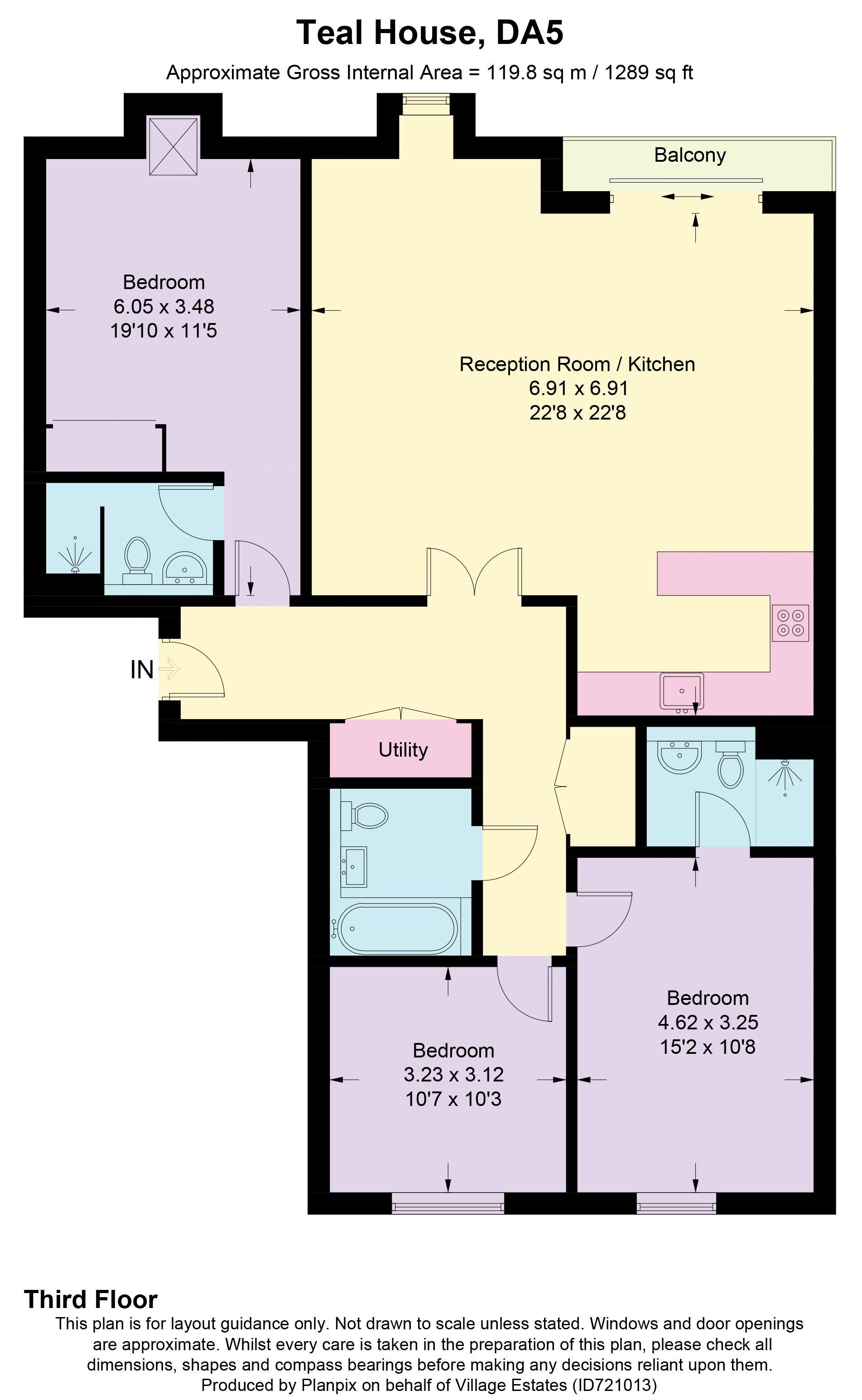 25 Teal House