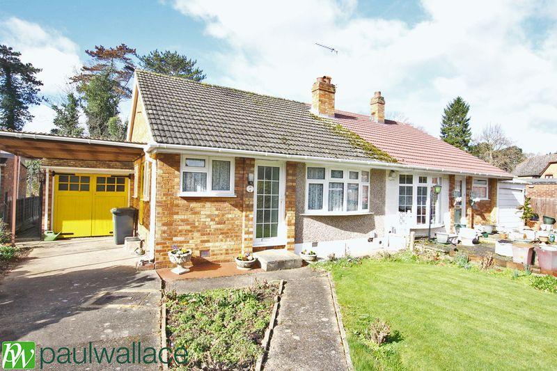 2 Bedrooms Semi Detached Bungalow for sale in Pembroke Close, Broxbourne