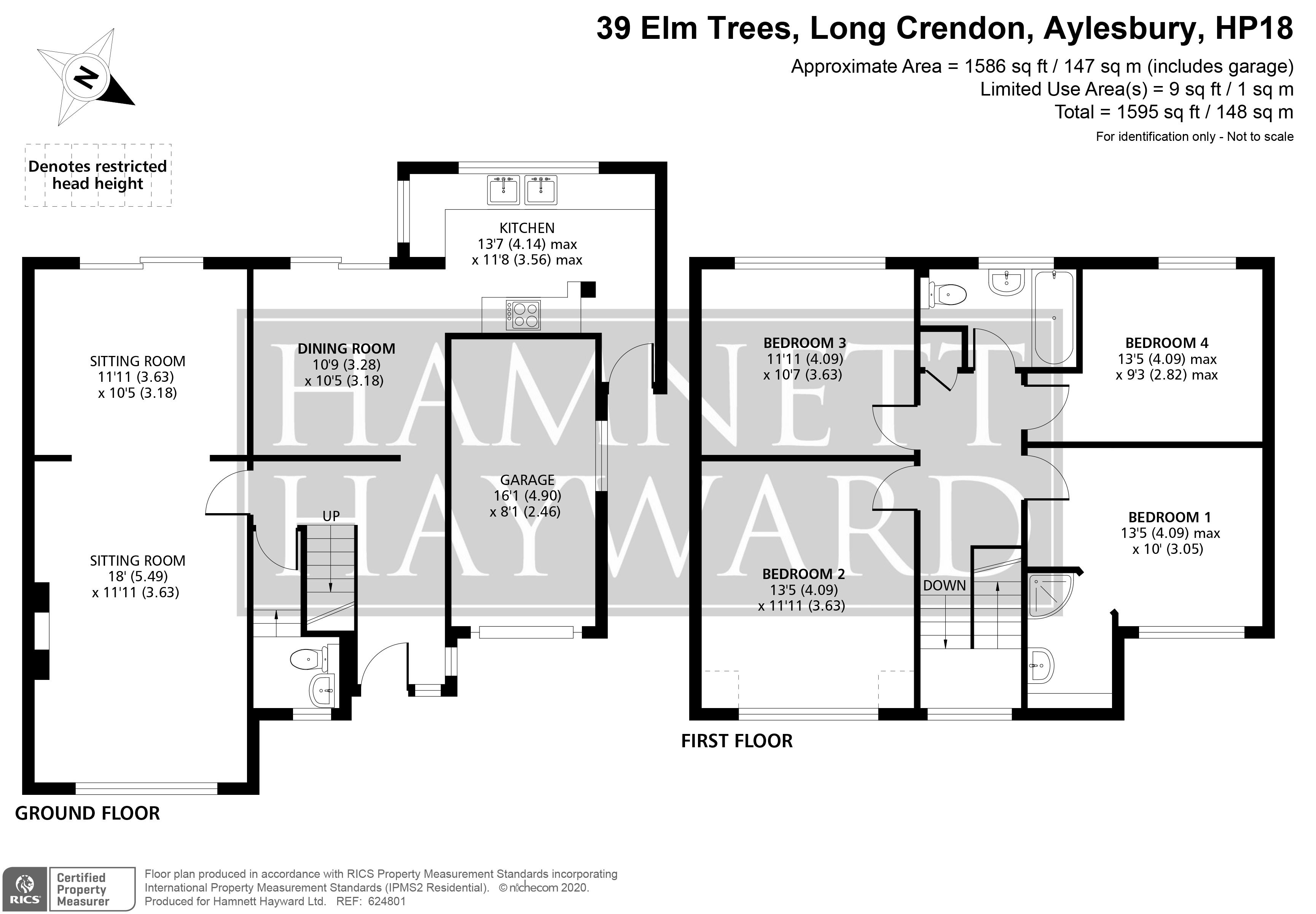 Elm Trees Long Crendon