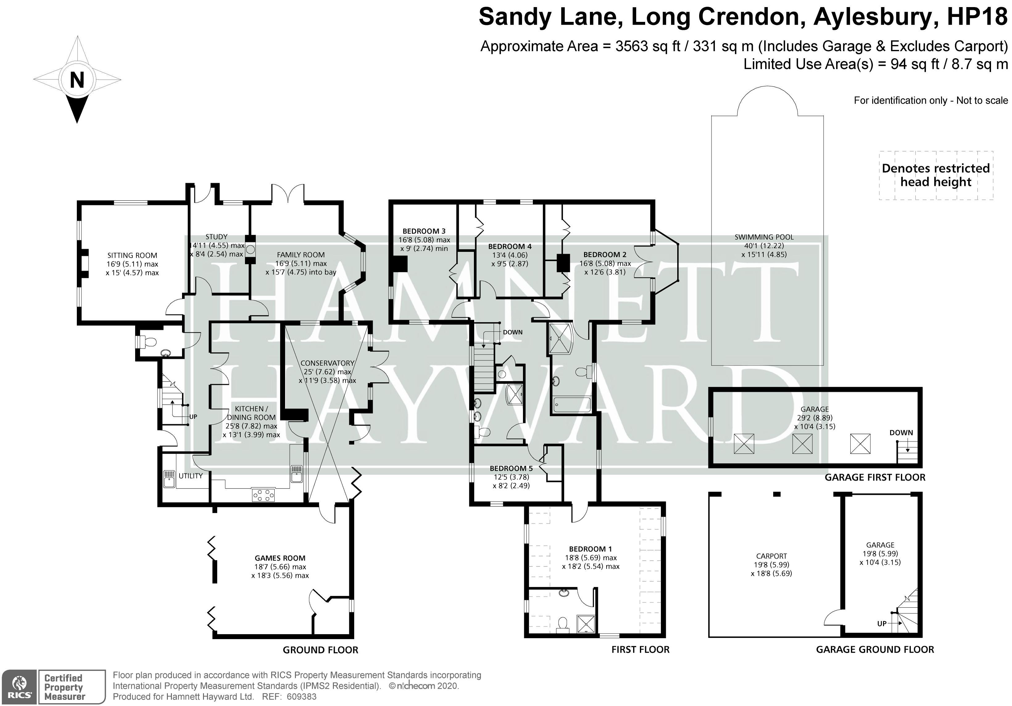 Sandy Lane Long Crendon