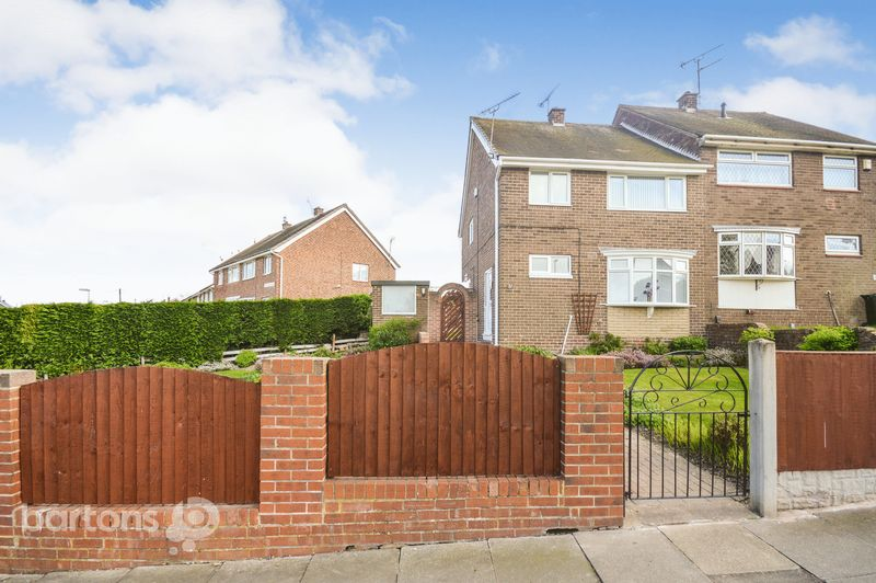 3 Bedrooms Semi Detached House for sale in Wensleydale Road, Wingfield, Rotherham