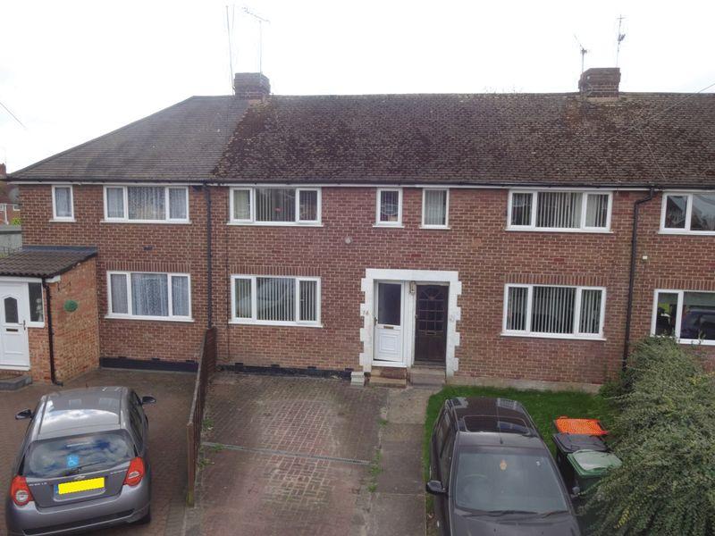 2 Bedrooms Terraced House for sale in Walkley Road, Houghton Regis