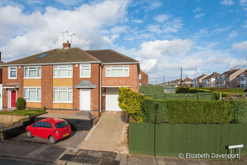 4 Bedrooms Semi Detached House for sale in Rydal Close, Allesley, Coventry
