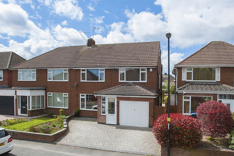 4 Bedrooms Semi Detached House for sale in Maidavale Crescent, Stivichall, Coventry