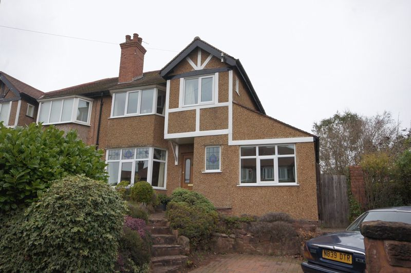 3 Bedrooms Semi Detached House for sale in Castle Drive, Heswall