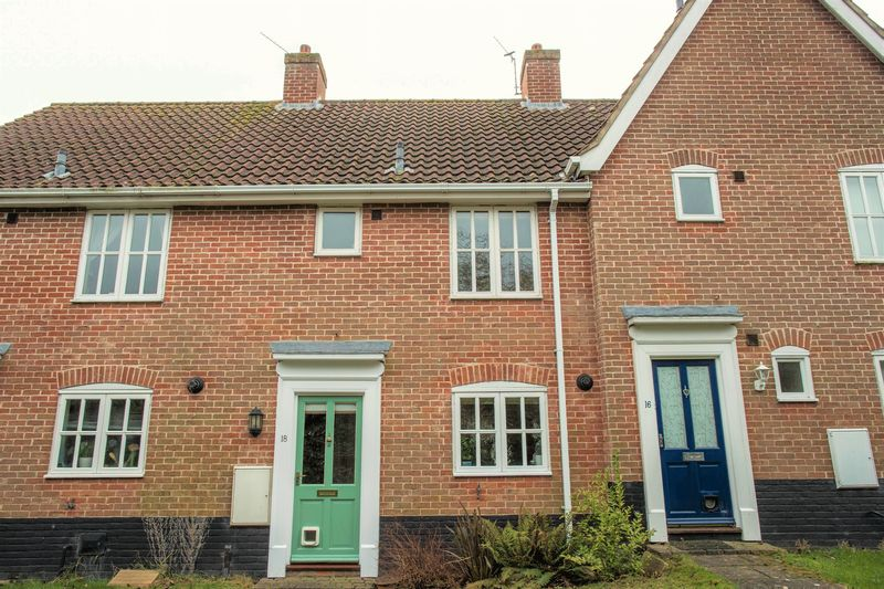2 Bedrooms Terraced House for sale in Snowdrop Close, Bury St. Edmunds