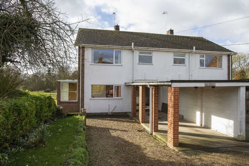 3 Bedrooms Semi Detached House for sale in Stow Road, Ixworth