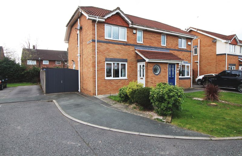 3 Bedrooms Semi Detached House for sale in Archers Green, Eastham