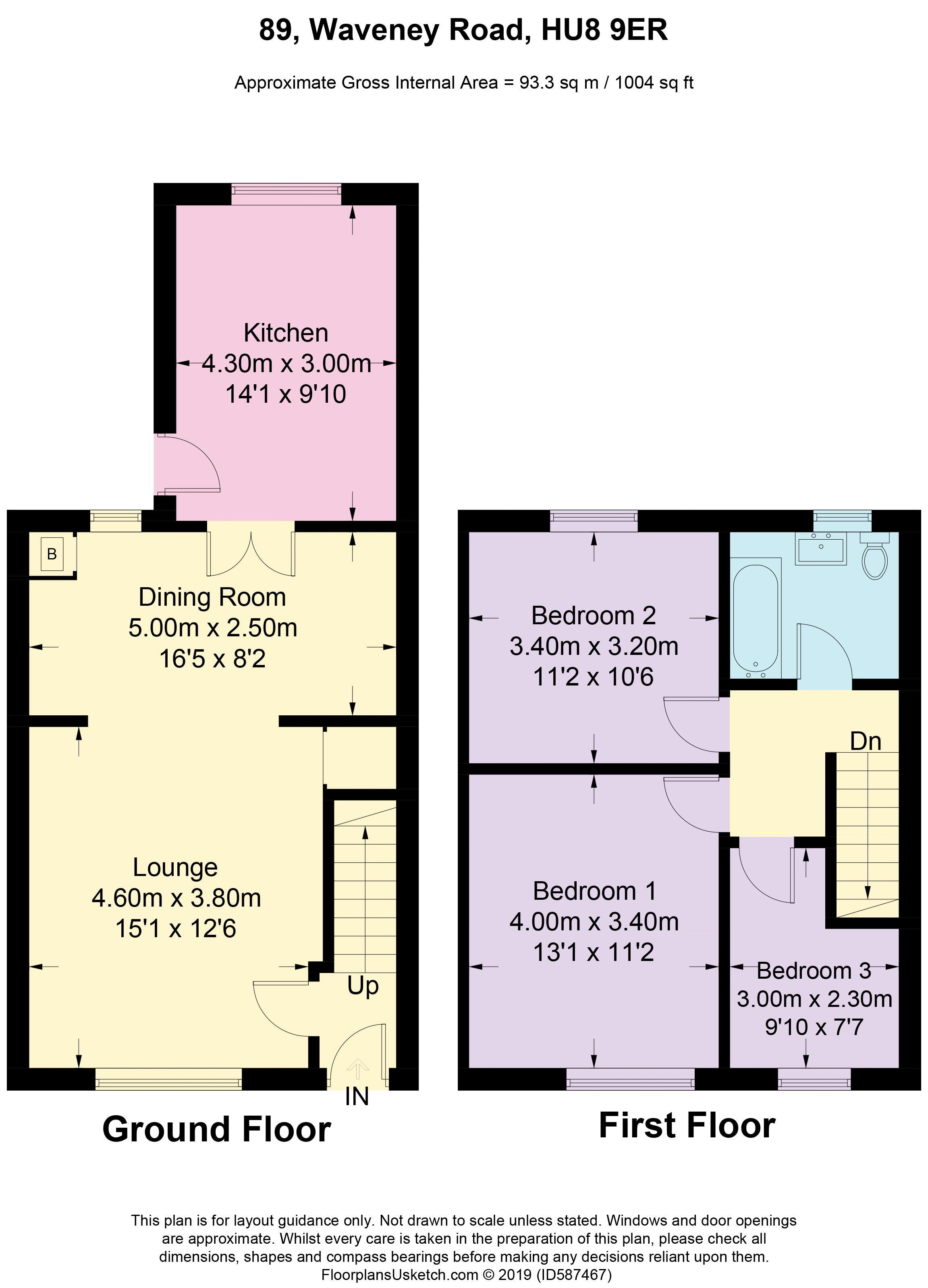 Waveney Road - Floorplan