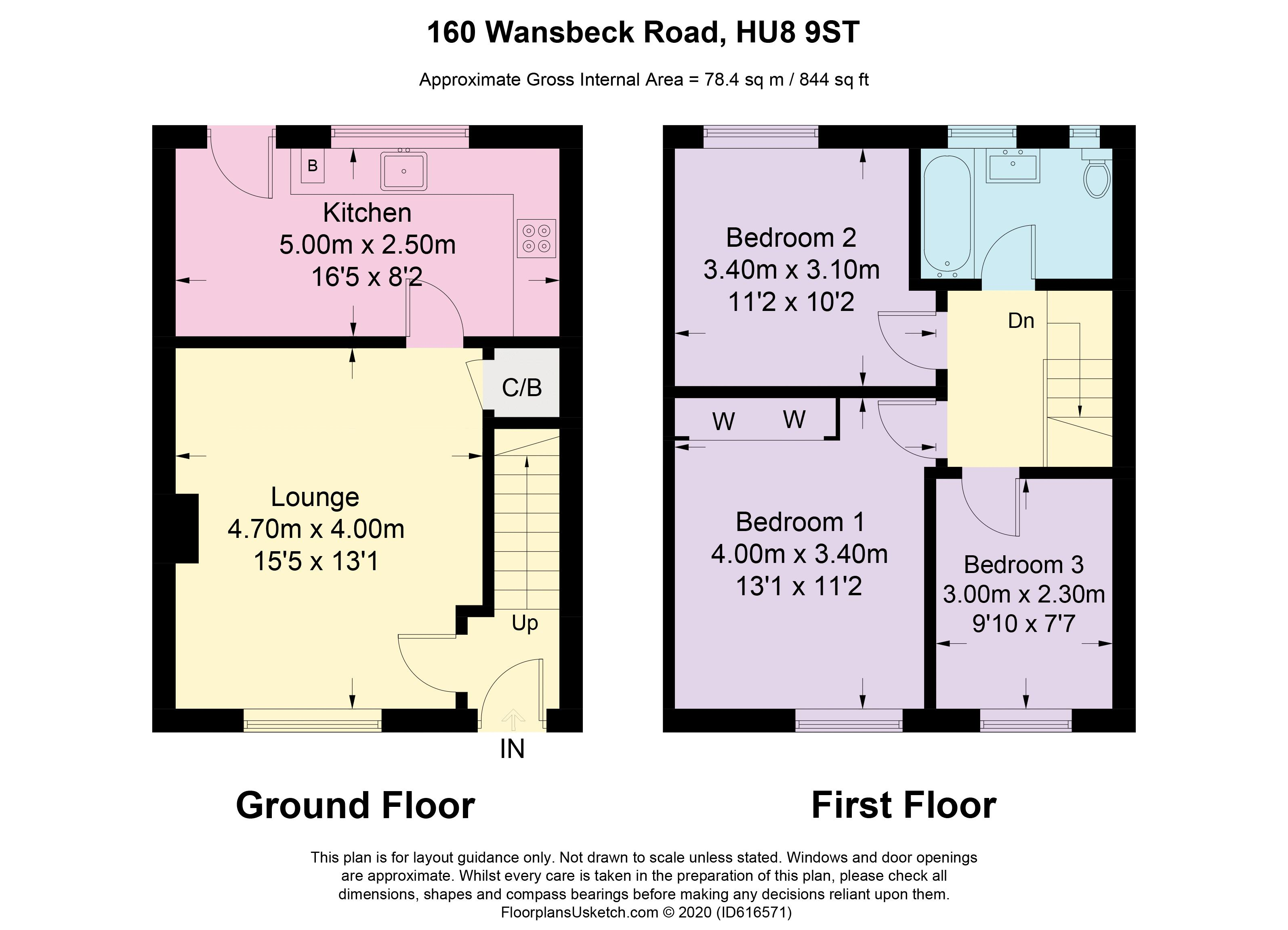 Wansbeck Road - Floorplan