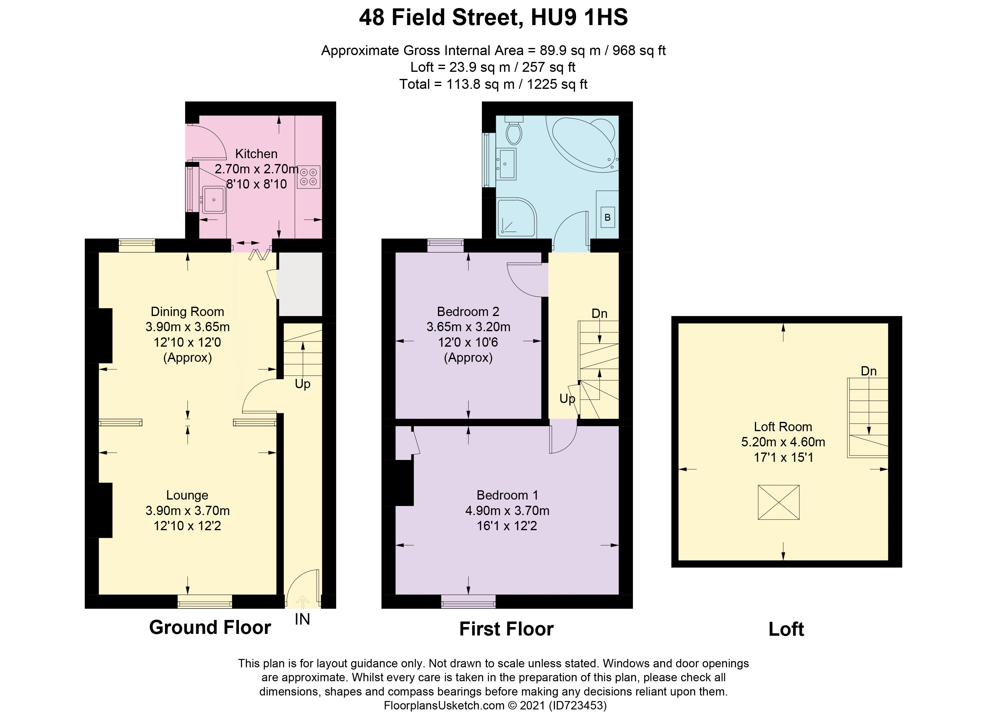 Field Street - Floorplan