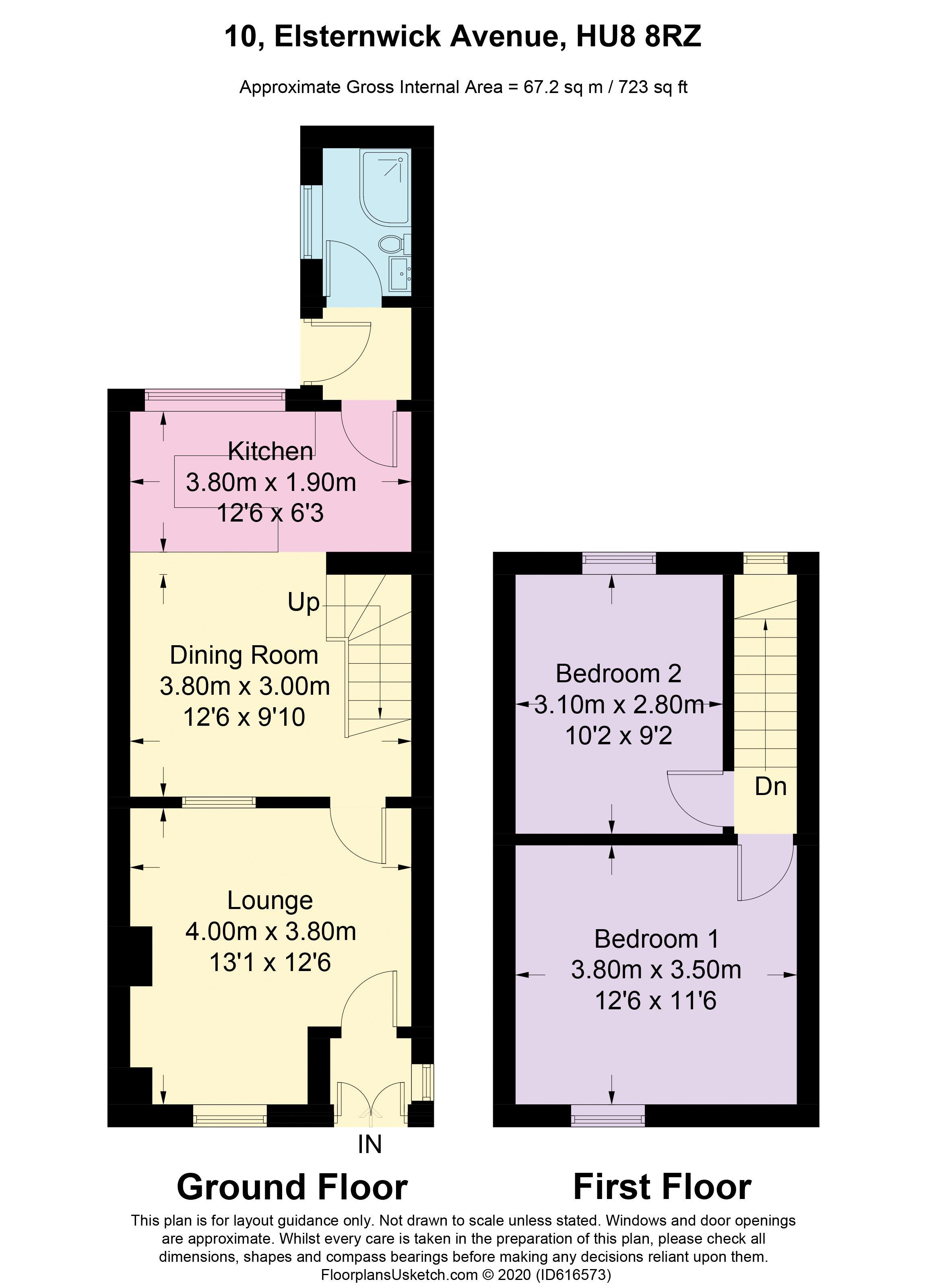 Elsternwick Avenue - Floorplan