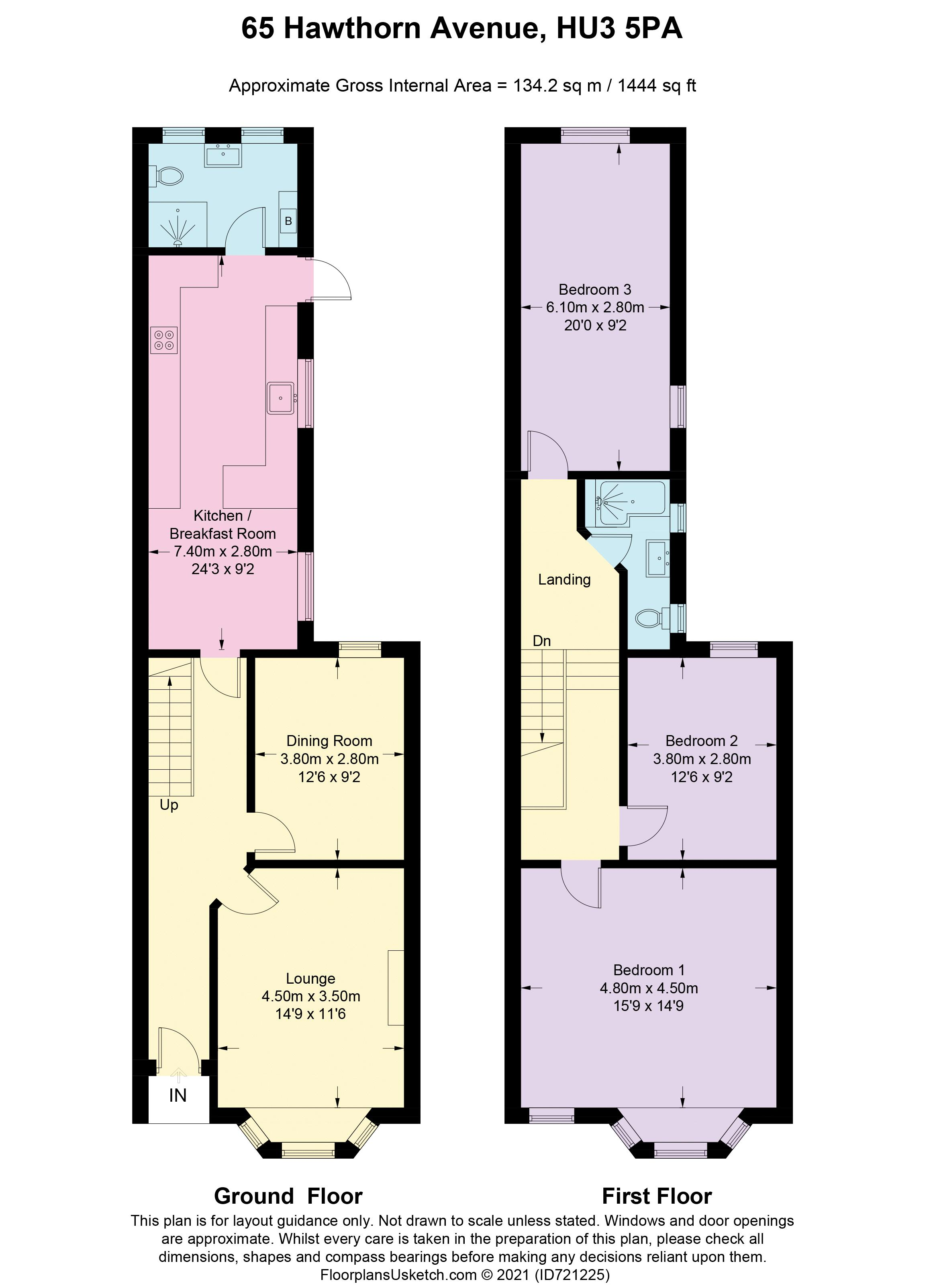 Floorplan - Hawthorn Avenue