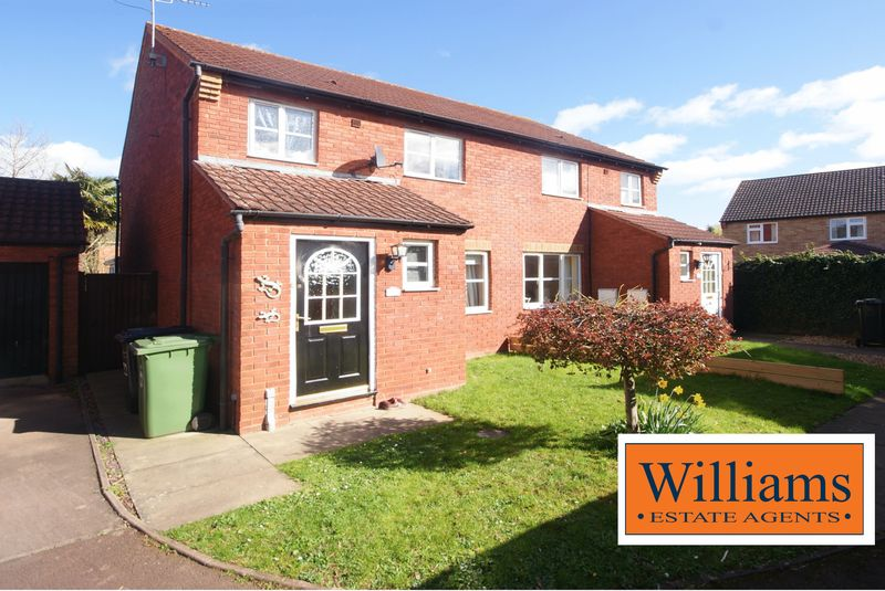 3 Bedrooms Semi Detached House for sale in St Clares Court, Hereford