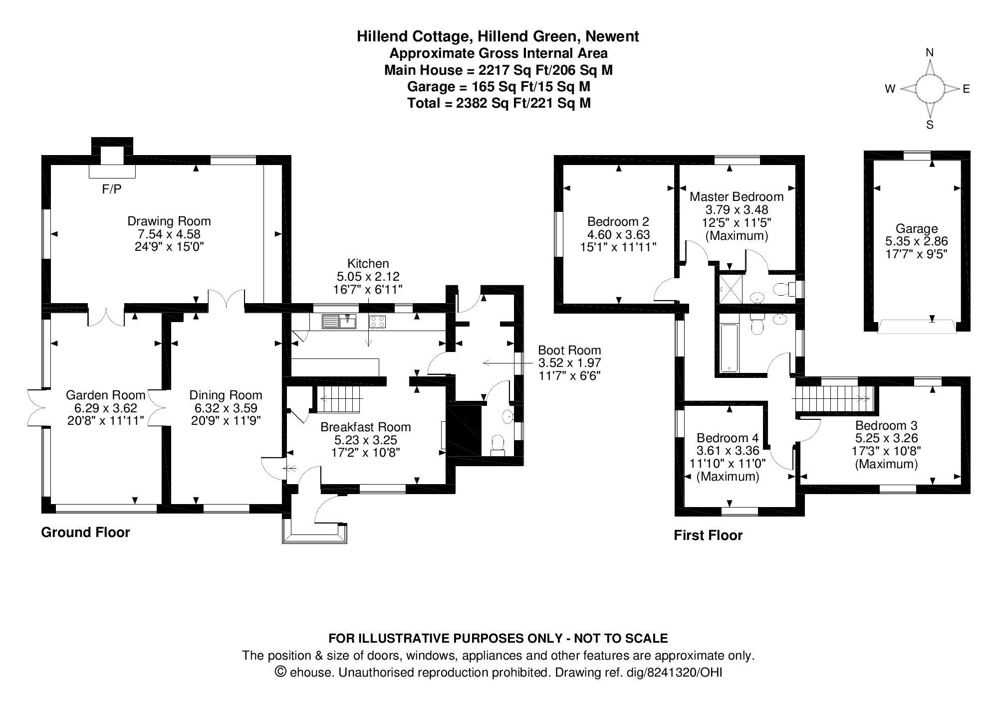 Hillend Cottage Floorplan