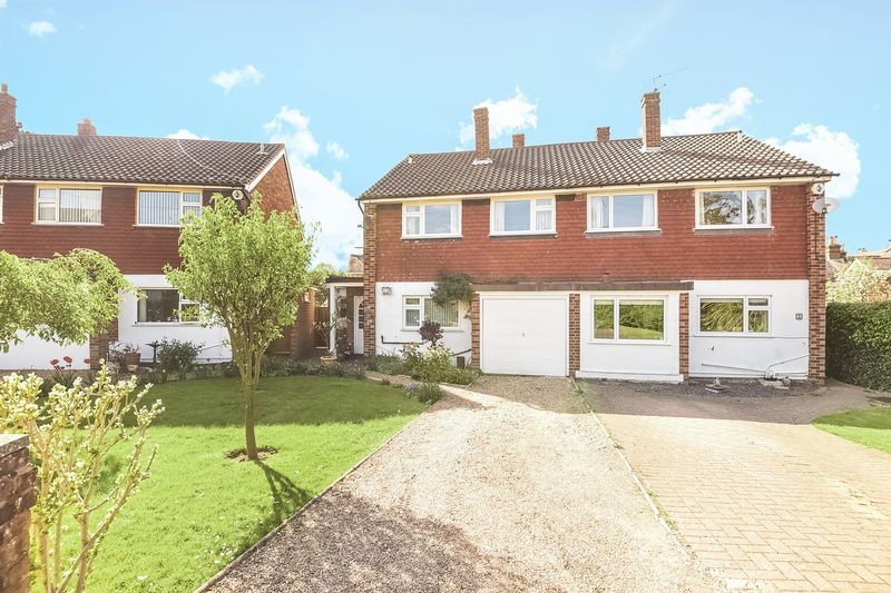 4 Bedrooms Semi Detached House for sale in Virginia Close, Ashtead