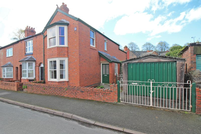 3 Bedrooms Semi Detached House for sale in Brynhafod Road, Oswestry