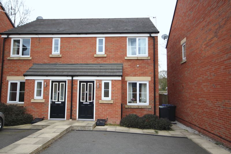 2 Bedrooms Semi Detached House for sale in DYEHOUSE CLOSE, Whitworth, Rochdale OL12 8EA