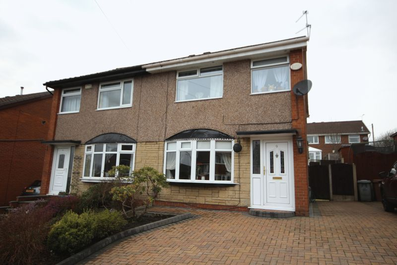 3 Bedrooms Semi Detached House for sale in EARNSHAW AVENUE, Healey, Rochdale OL12 0ST