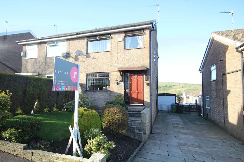 3 Bedrooms Semi Detached House for sale in SHELFIELD LANE, Norden, Rochdale OL11 5XY