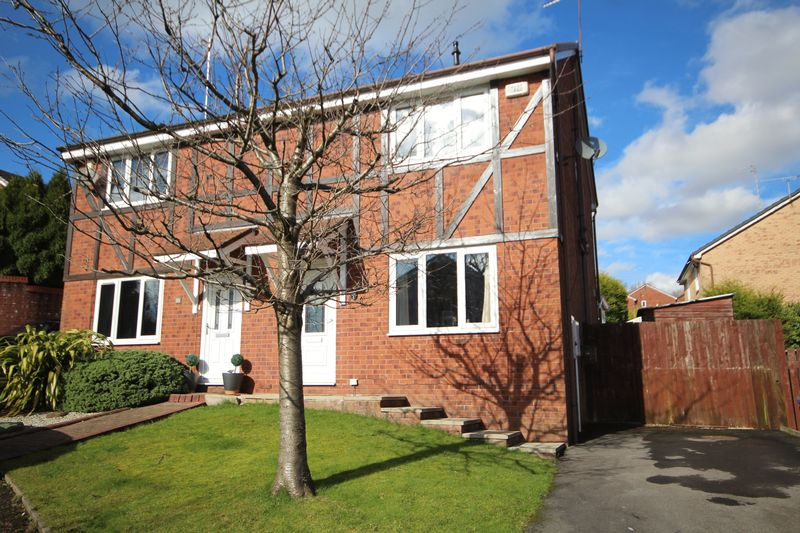 3 Bedrooms Semi Detached House for sale in THORNLEA DRIVE, Norden, Rochdale OL12 7GD