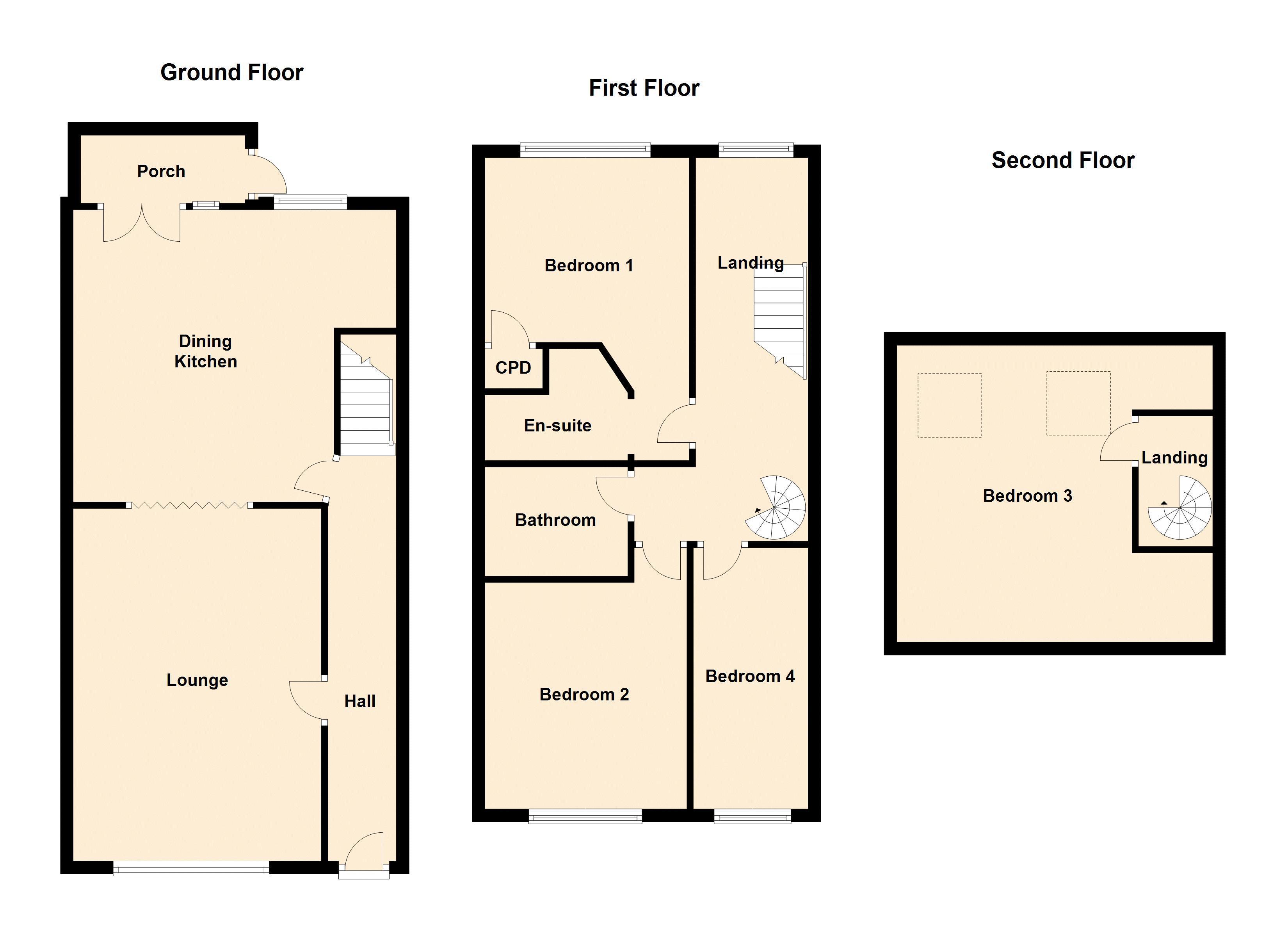 Ground / First Floors