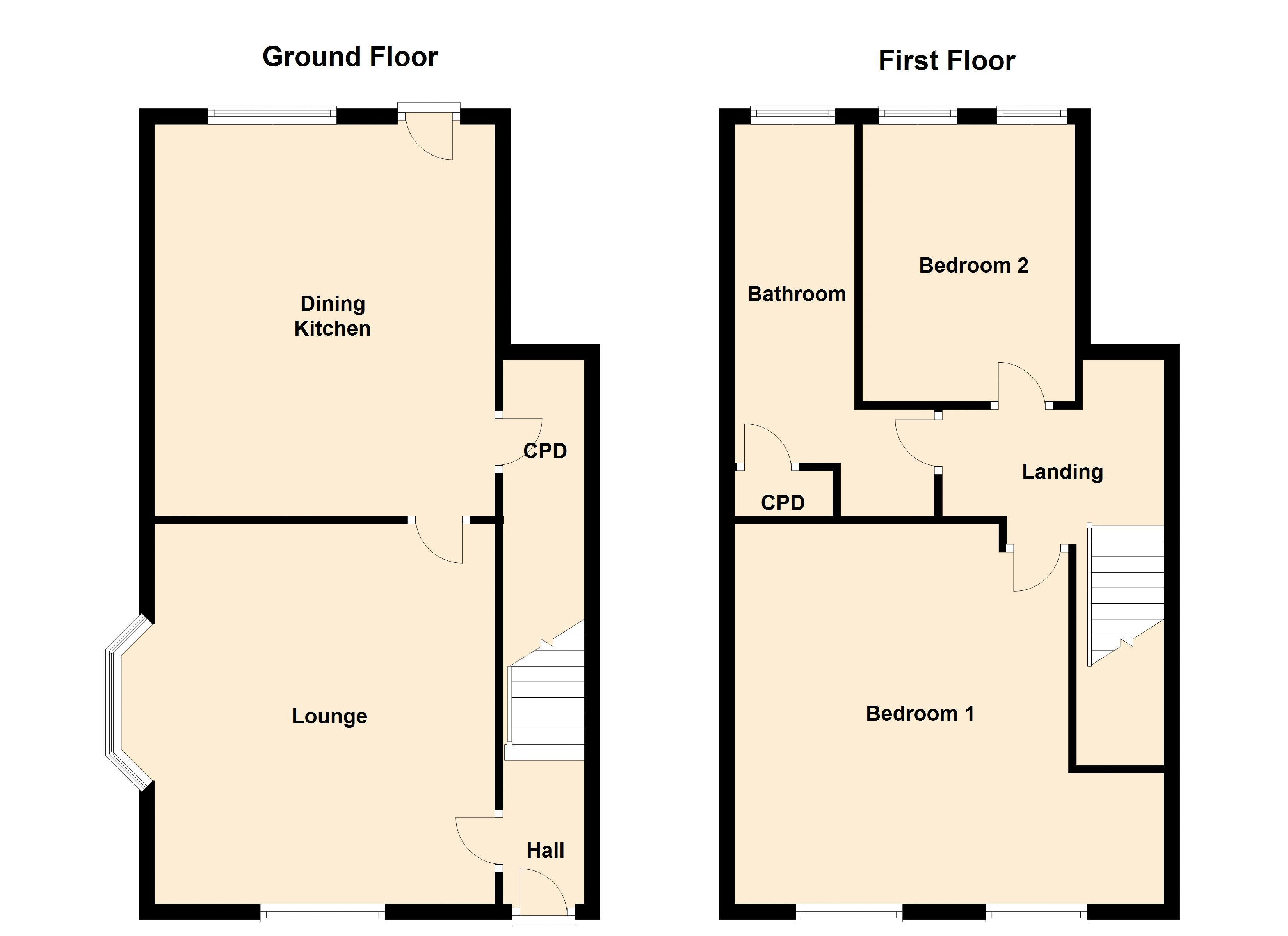 Ground/First Floors