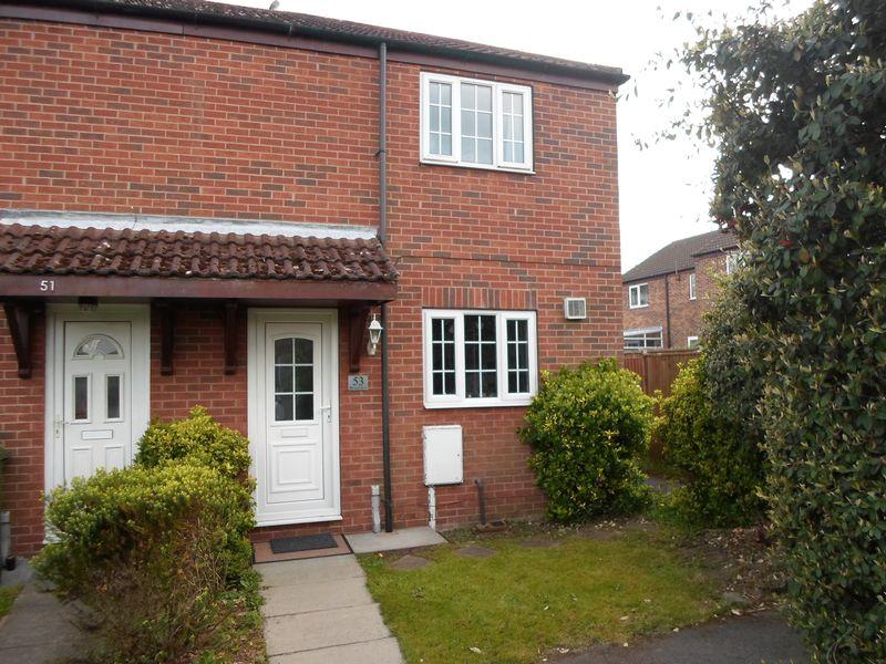 2 Bedrooms Terraced House for sale in Bevan Close, Rainworth