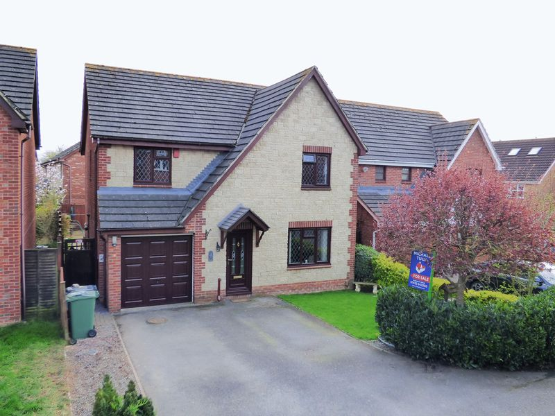 4 Bedrooms Detached House for sale in Goshawk Road, Gloucester