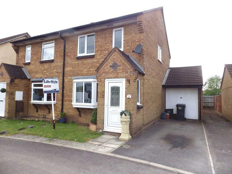 3 Bedrooms Semi Detached House for sale in Ellicks Close, Bradley Stoke