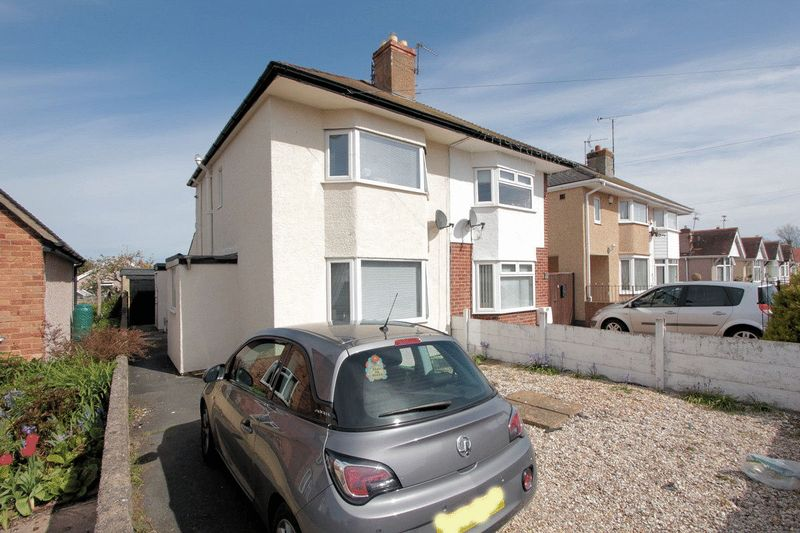 2 Bedrooms Semi Detached House for sale in Handsworth Crescent, Rhyl