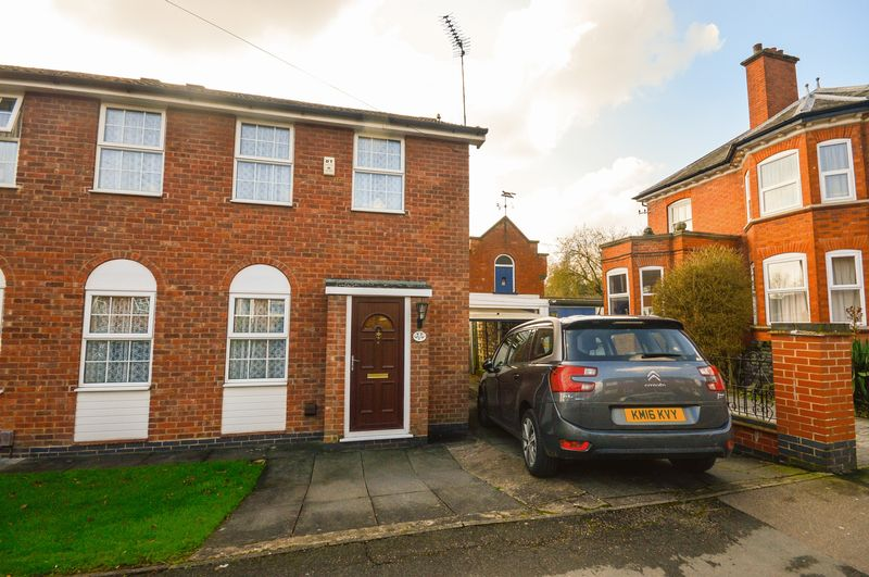3 Bedrooms Semi Detached House for sale in Stadon Road, Leicester, LE7