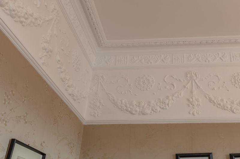 Dining room frieze & cornice