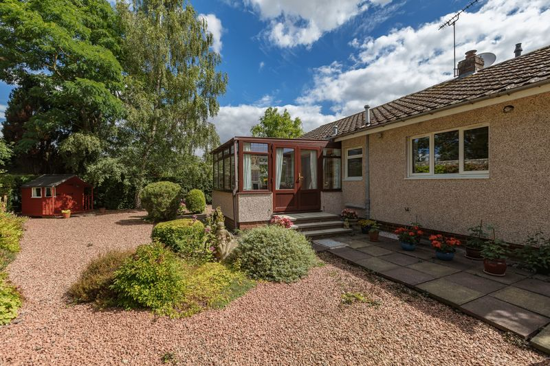 Back garden & conservatory