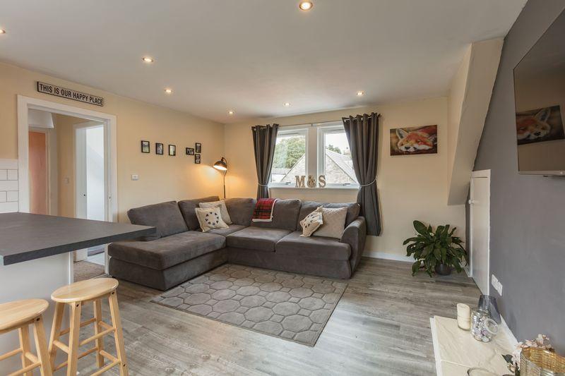 12 Victoria Street, Galashiels - sitting room