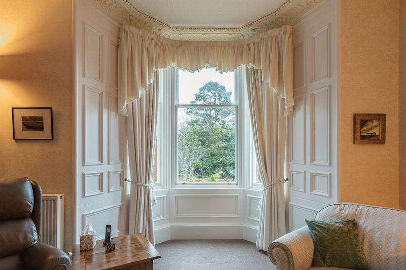Sitting room bay window
