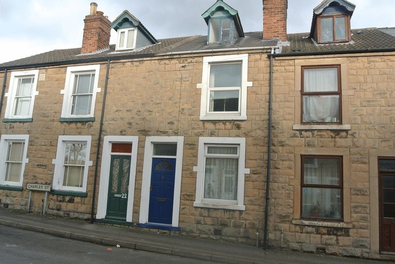 3 Bedrooms Terraced House for sale in Charles Street, Mansfield Woodhouse, NG19 8AR