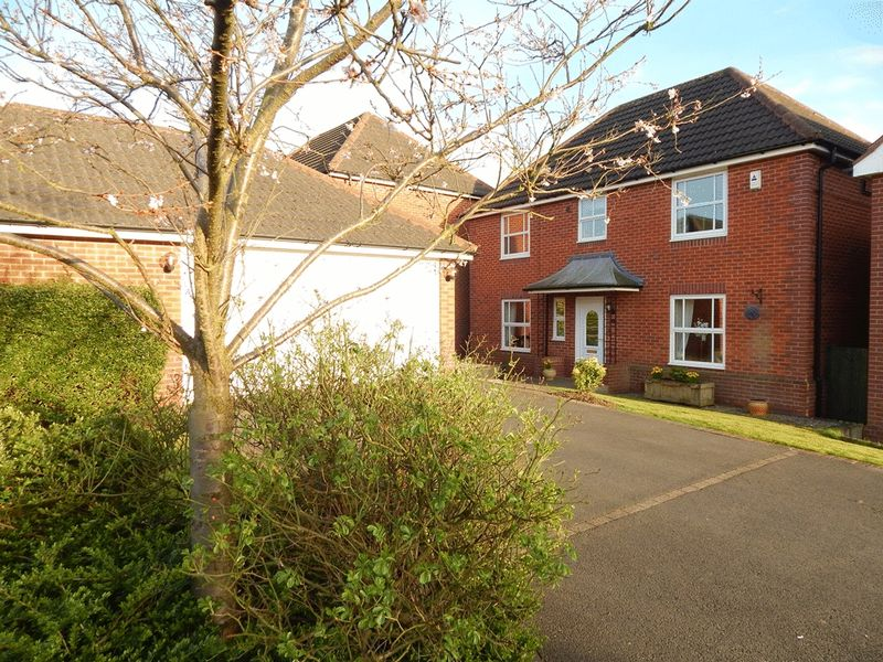 4 Bedrooms Detached House for sale in Meadow Lark Close, Sutton-In-Ashfield