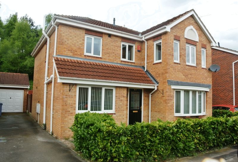 4 Bedrooms Detached House for sale in Millrise Road, Mansfield