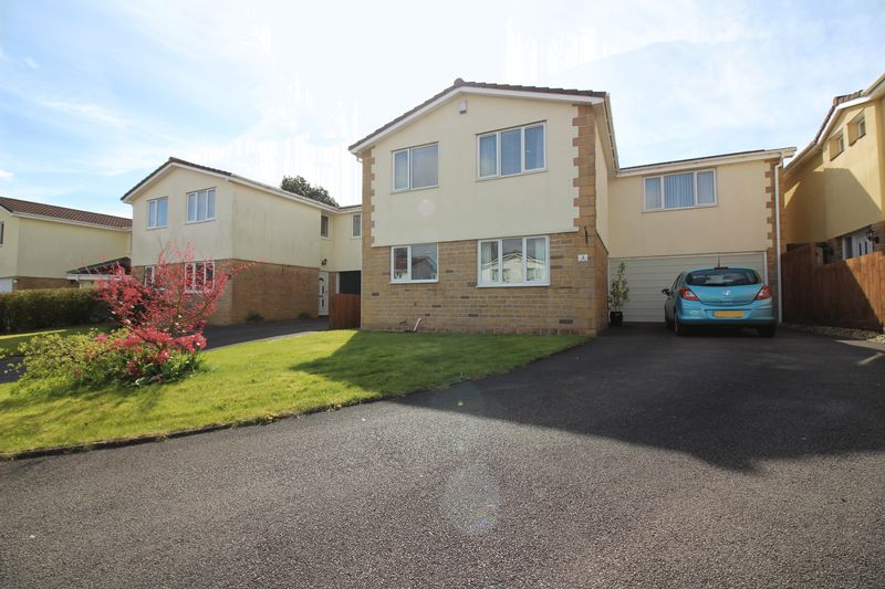 4 Bedrooms Detached House for sale in Manor Close, Portishead