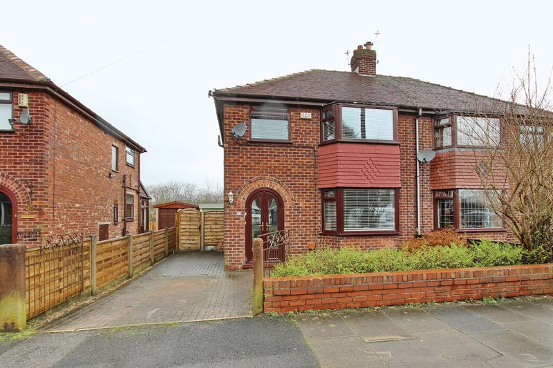 3 Bedrooms Semi Detached House for sale in Stanway Road, Whitefield, Manchester